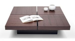 tavolino apribile - opening coffee table