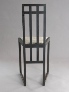 Highback Chair, J. Hoffmann, 1904, Museum of Modern Art