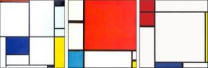 1Mondriaan03Piet Mondriaan, Tableau I, 1921, Oil on canvas, copia