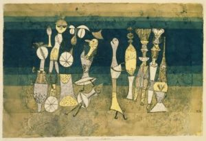 Comedy, 1921, P. Klee