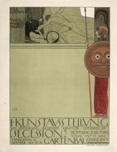 Poster for the First Secession exhibition, G. Klimt