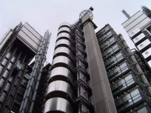 Lloyd's Building, City of London. Designed by Richard Rogers. Late 20th century