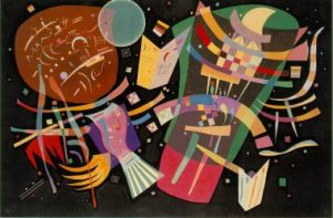 Composition X, 1938-1939, V. Kandinsky