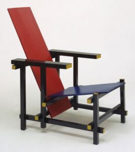 Red and Blue Chair – 1918 – i Design