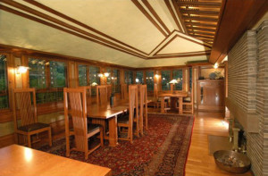 The Avery Coonley Estate Dining Room, F. L. Wright
