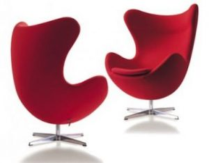 Poltrona Egg Jacobsen.Egg Armhair 1958 I Design
