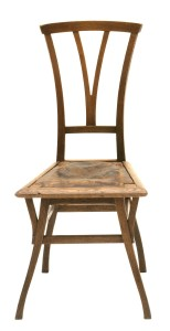 """Chair from """"House Bloemenwerf"""", about 1895, v. d. Velde"""