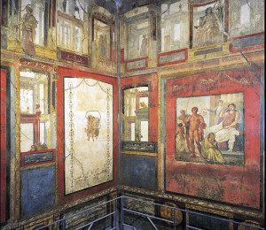 Ixion Room, House of the Vetii, Pompeii, Italy, 1st century C.E.