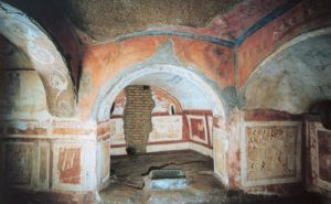 Picture of the Catacombs of Priscilla in Rome