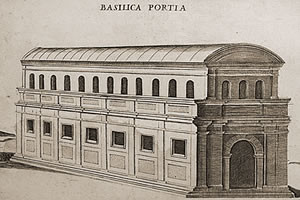 Picture of the Basilica Portia