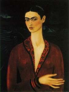 kahlo_self portrait 1926