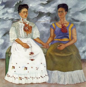 the two fridas 1939 oil on canvas museo de arte moderno mexico city