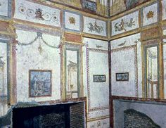 4th style paintings in the Domus Aurea