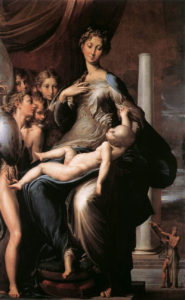 Parmigianino, Madonna with the Long Neck (1534-40)