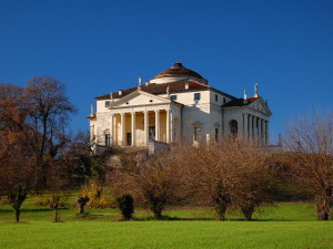 Villa La Rotonda by Andrea Palladio, Vicenza, Italy. This house, later known as 'La Rotonda', was to be one of Palladio's best-known legacies to the architectural world. Villa Capra may have inspired a thousand subsequent buildings, but the villa was itself inspired by the Pantheon in Rome.
