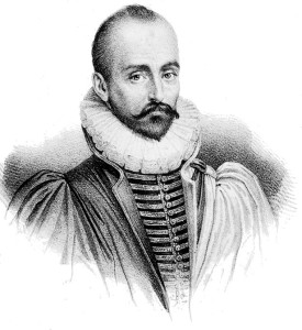 Michel de Montaigne, portrait.