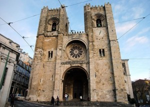 Lisbon Cathedral.Mary Major.