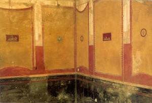 House of Vettii, an example of third style wall painting.