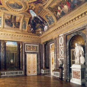 Salon de Vénus in the Grands Appartements du Roi in the Versailles Palace.