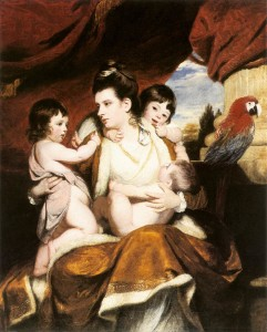 Joshua Reynolds, Lady Cockburn and Her Three Eldest Sons, 1773, oil on canvas.