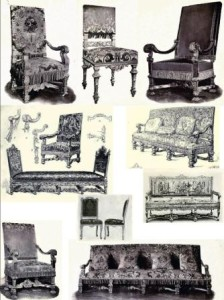 Louis XIV Style Chairs