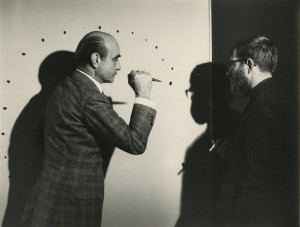 Lucio Fontana, Perforations on Canvas