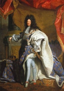 In 1701 Louis XIV commissioned from Hyacinthe Rigaud a copy of the portrait. This portrait, Louis XIV (oil on canvas; 2.05 x 1.52 m), is on display in the Apollo Salon of the Château de Versailles' Grand Apartment.