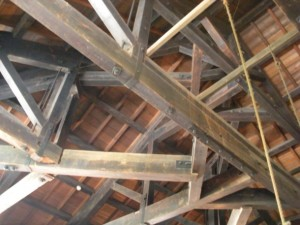 An example of trussed beam.
