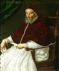 Pope Gregory XIII.