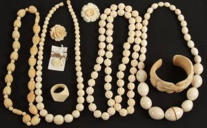 ivory jewels of mammuth