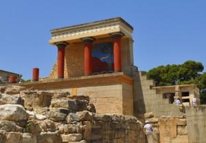 Minoan Palace of Knossos.