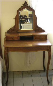 Dressing table in Louis XV style