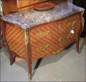 Wooden box in Louis XV style