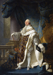 Portrait of King Louis XVI by Antoine-François Callet.