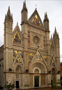 Facade of Orvieto Cathedral