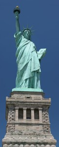 Statue of Liberty has 80 metric tons of copper sheeting.[56] New York City, U.S