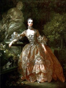 madame de pompadour, Francois Boucher, 1759 example of rococò painting