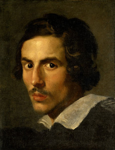 Gian Lorenzo Bernini, self-portrait, 1623