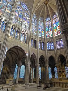 Gothic choir of Saint-Denis