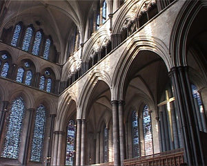 East end of the Cathedral, Salisbury