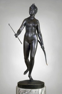 Diana the Huntress by Houdon.