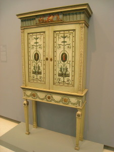 Adam designed bookcase 1776, probably built by Thomas Chippendale.