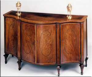 Side cabinet George Hepplewhite style.