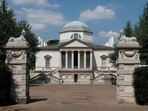 Chiswick House, London, England.