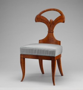 Side Chair, Josef Danhauser, 1820, Vienna.