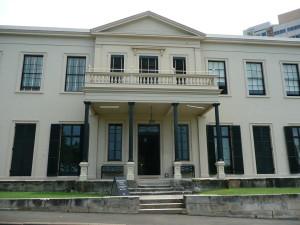 A classical house in Regency style.