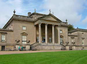 Stourhead House, England. Owned by the National Trust, Stourhead House is close by the famous gardens.