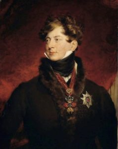 Portrait by King George IV by Thomas Lawrence.