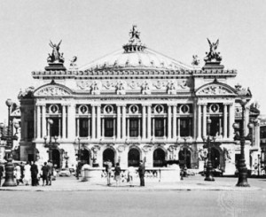 Opera House, Paris, by Charles Garnier, begun 1861.