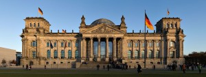 Reichstag Building, Berlin, completed in 1884.